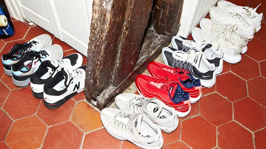 Les chaussures de Dan Sablon